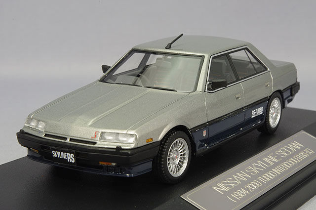 Nissan Skyline 2000 Turbo RS-X 1984 Silver/Blue