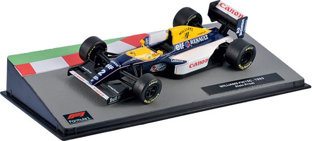 Williams FW15C Ален Прост (1993), Formula 1 Auto Collection 4
