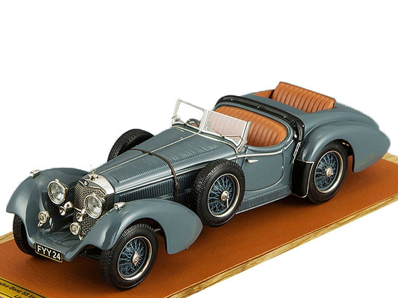 Mercedes-Benz SS By Erdmann & Rossi, top down + extra seat (grey)