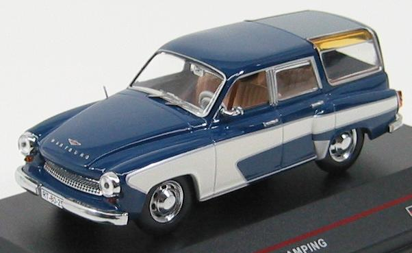 Wartburg 311 Camping 1957 Dark Blue and Cream