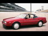 CADILLAC Allante Indy 500 Pace Car 1993 Pompeian Red Metallic