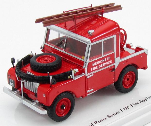 Land Rover Series I 88 1957 - Fire Appliance (red)