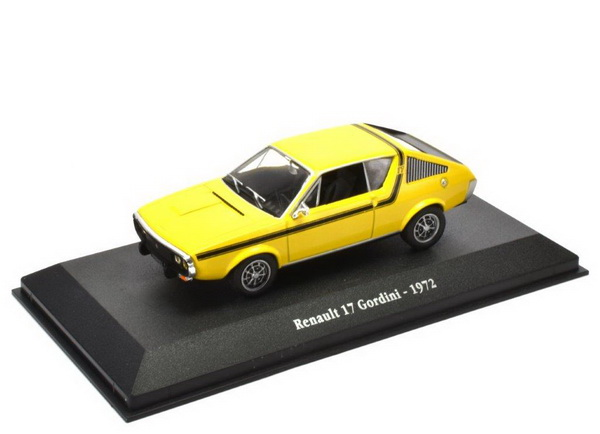RENAULT 17 Gordini 1972 Yellow