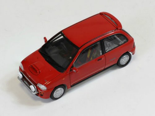 "Subaru Vivio RX-R Test Car ""Ready for Race"" 1993 Red"