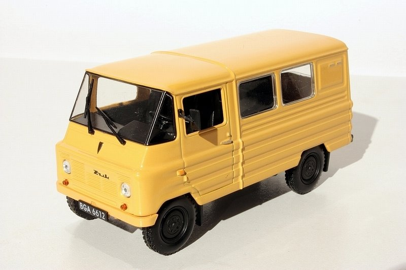 FSO Zuk A-07 1958 Yellow