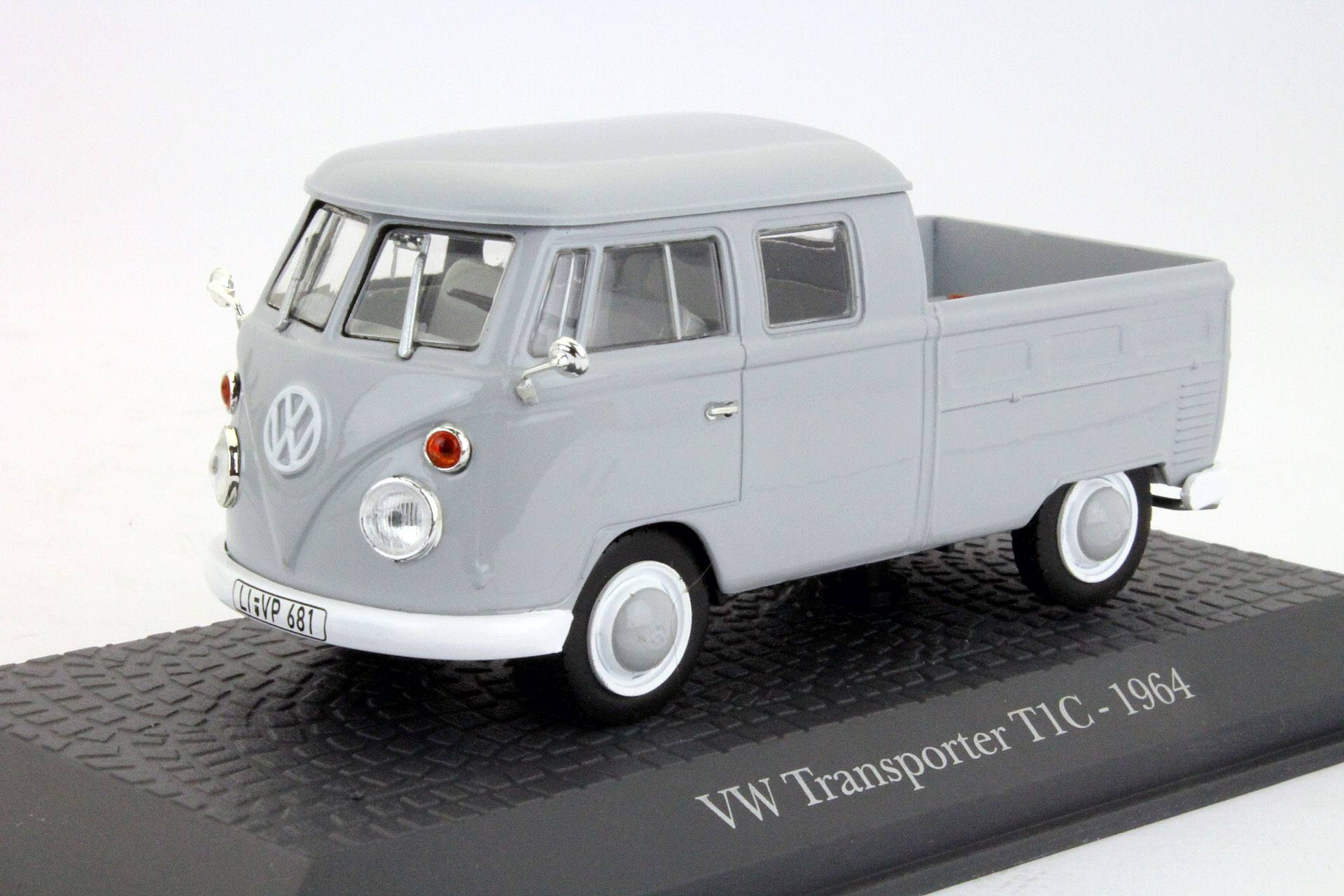 Volkswagen T1C Doka 1964 Light Gray
