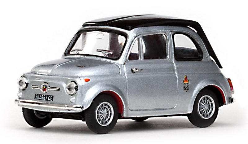 Fiat Abarth 695 SS Silver 1964 Metallic / Black