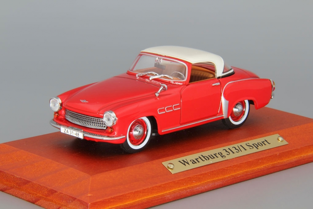 WARTBURG 313/1 Sport, red