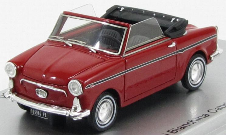 Autobianchi Bianchina Cabrio F 1965 Red