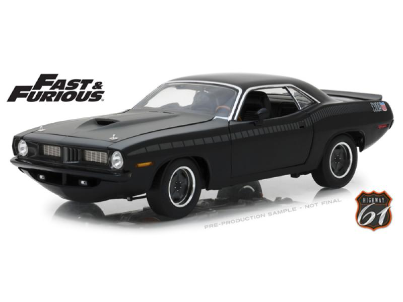 "PLYMOUTH Barracuda Custom ""Fast & Furious 7"" (из к/ф ""Форсаж VII"")"