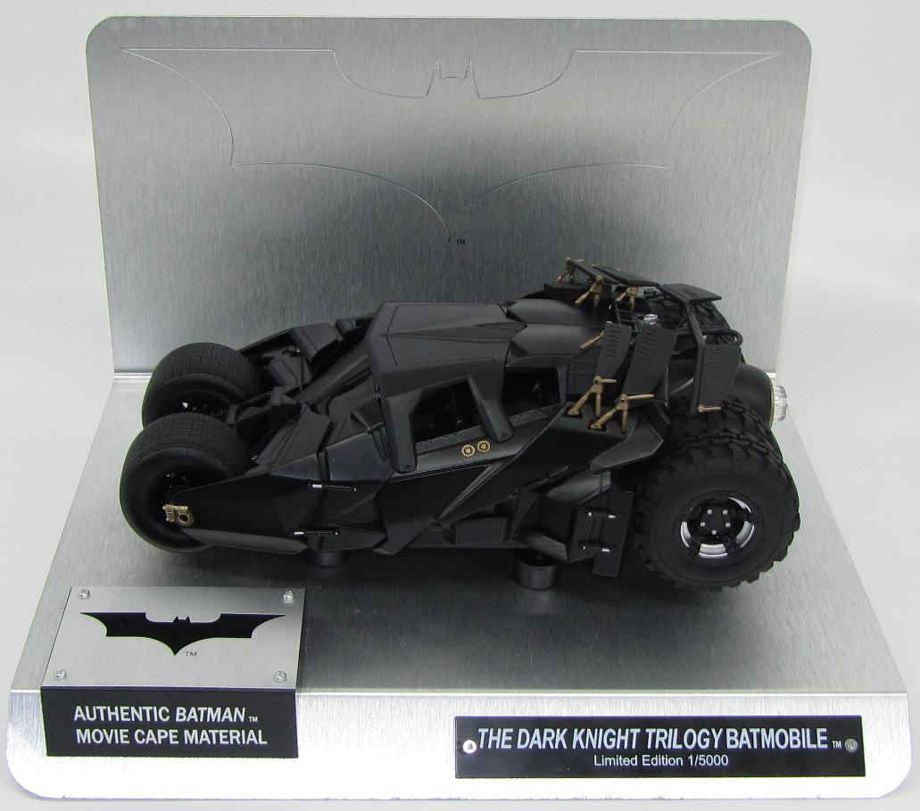 "Batmobile ""The Dark Knight"" With authentic batman movie cape material"