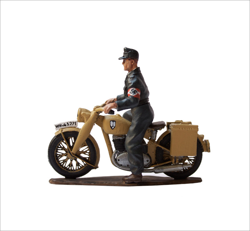 DKW NZ350, Hitler Judgen Dispatch Rider.