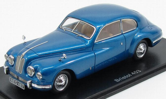Bristol 403 1953 Metallic Blue (ex BMW)