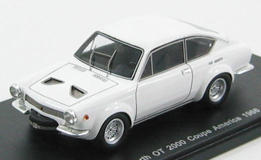 Abarth OT 2000 Coupe America 1966 White