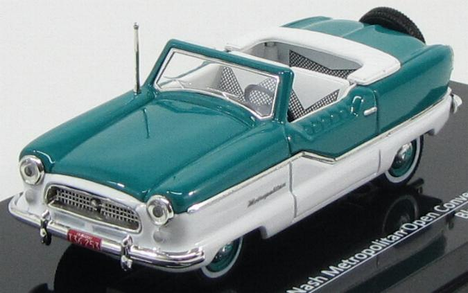 Nash Metropolitan Open Convertible 1959 Blue / White
