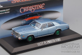 "PLYMOUTH Fury 1977 Blue (машина детектива Рудольфа Дженкинса из к/ф ""Кристина"" 1983)(Greenlight!!! Зеленые колёса!!!)"