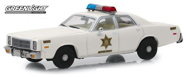 "PLYMOUTH Fury ""Hazzard County Sheriff"" 1977 (из к/ф""The Dukes of Hazzard"")"