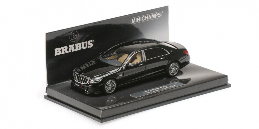 Maybach Brabus 900 Basis Mercedes-Maybach S 600 - 2015 (black)