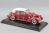 Lincoln Touring Cabriolet (1937) Red