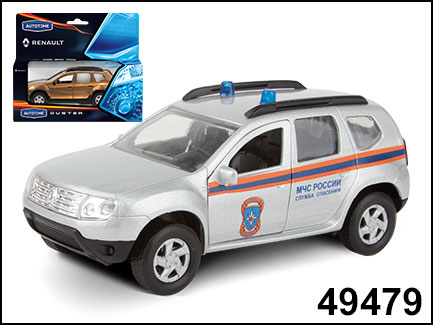 RENAULT DUSTER МЧС 1:38