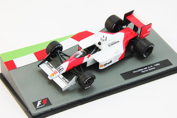 McLaren MP4/4 1988 as driven by Ayrton Senna, Formula 1 Auto Collection 1