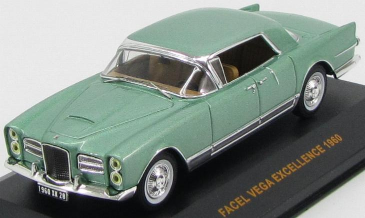 Facel Vega Excellence (1960) Mettalic Green