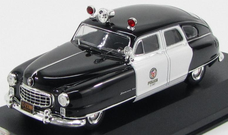 "Nash Ambassador ""Los Angeles Police"" 1950"