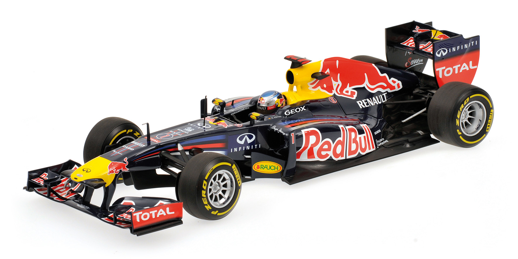 Red Bull Racing Sebastian Vettel Showcar 2012