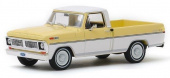 FORD F-100 пикап 1970 Pinto Yellow / Pure White