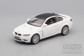 BMW M3 Coupe (2009), white