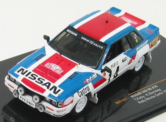 Nissan 240RS #14 Rally Montecarlo 1984 T.Kaby, K.Gormley