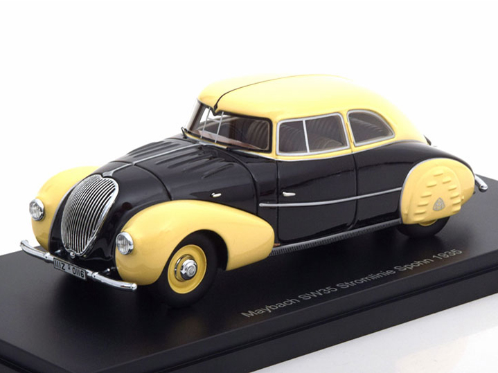 Maybach SW35 Streamliner Spohn 1935 Black/Beige