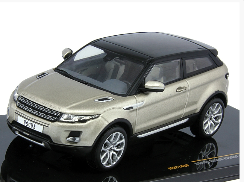 Range Rover Evoque 3 doors 2011 Ipanema Sand and Black