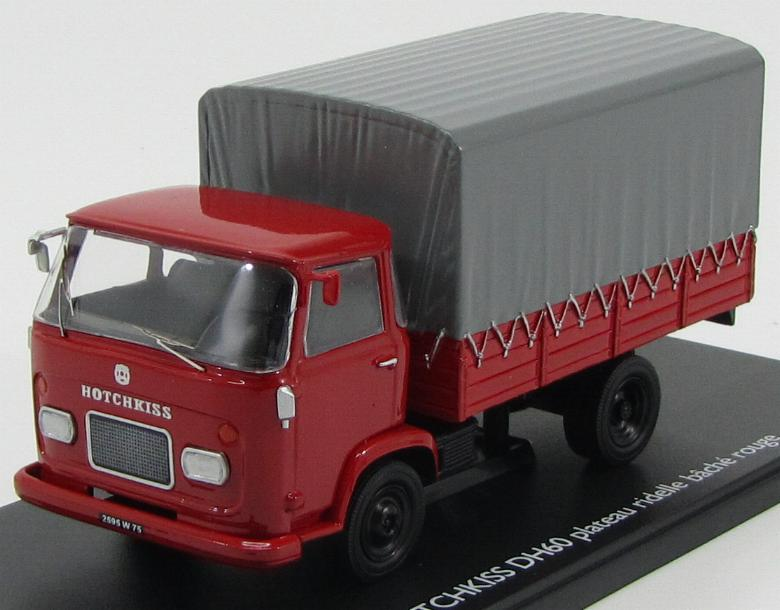 Hotchkiss DH60 Truck 1959 Red / Gray