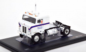 "седельный тягач KENWORTH Bullnose ""Ross Mackie Transport"" 1950 White/Blue"