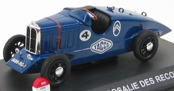 Citroen Rosalie Des Records #4 1933 Blue
