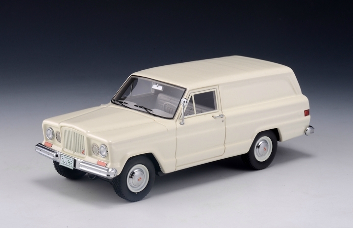 Jeep Kaiser 4x4 Panel Delivery (фургон) 1962 Cream