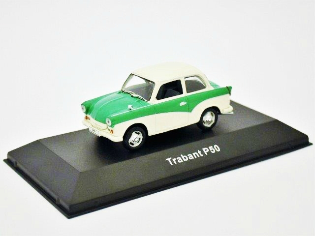 Trabant P50 1959 White & Green