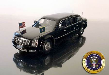 Cadillac DTS Presidential Limousine (President Obama) 2009
