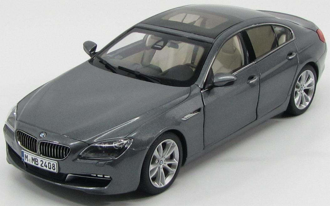 BMW 6-Series 650i Gran Coupe 2012 Metallic Grey
