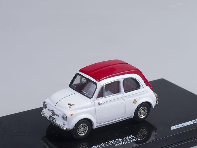 Fiat Abarth 595 SS 1964 White / Red