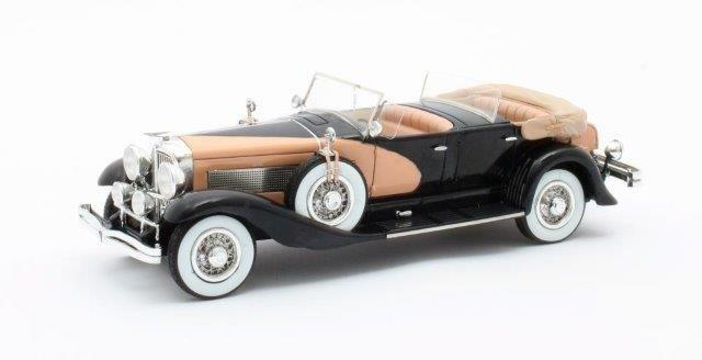 DUESENBERG SJ J-562-2592 Dual Cowl Phaeton La Grande/Union City Body Co. (открытый) 1935 Black/Beige