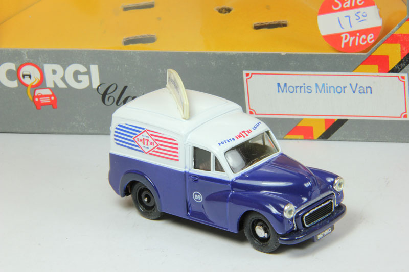 Morris Minor Van Smiths