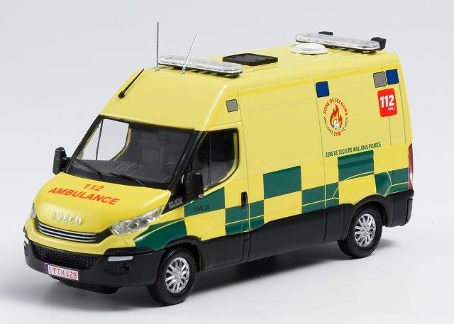 IVECO DAILY Ambulance Zone de Secours de Wallonie Picarde (спасатели Бельгия) 2019