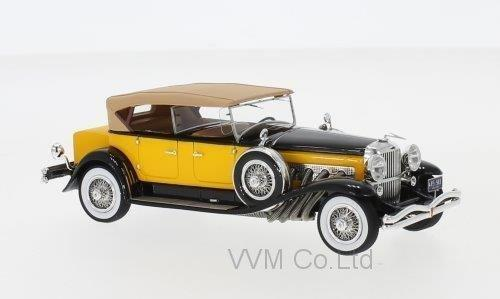 DUESENBERG Model SJ Tourster Derham 1932 Dark Beige/Black