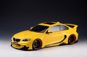 BMW M235 MTC Black Sails Widebody DarwinPRO 2015 Yellow