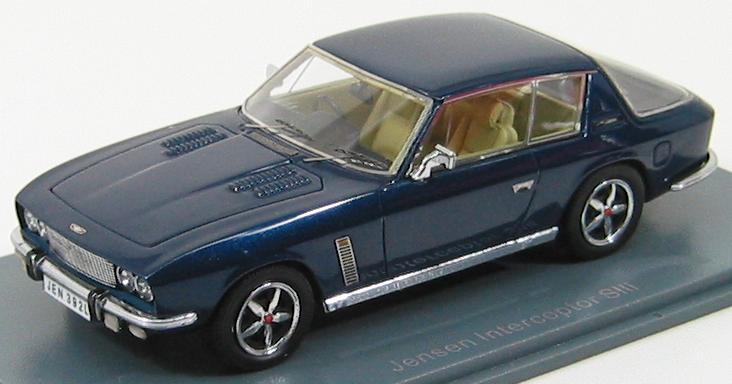 Jensen Interceptor SIII 1975 Dark Blue Metal.