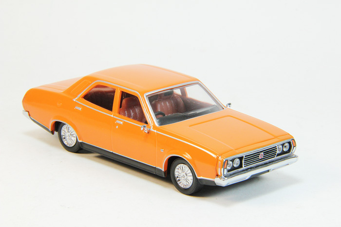 Leyland P76 Super 1973 orange