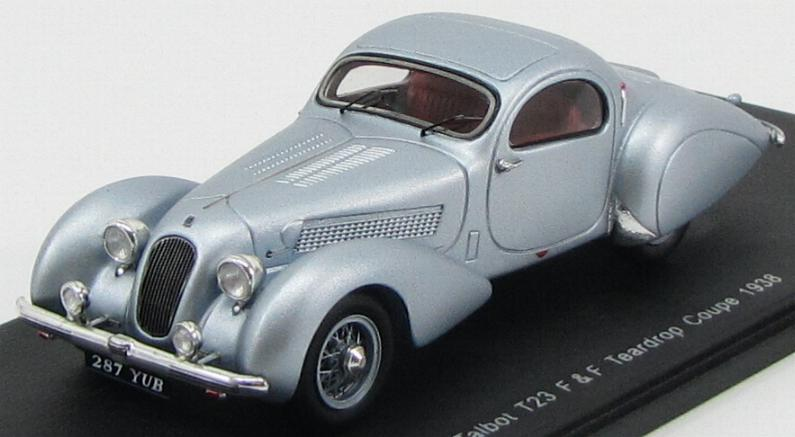 Talbot T23 Figoni and Falaschi Teardrop Coupe 1938