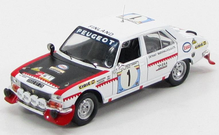 Peugeot 504 #1 Rally Safari 1975 T.Makinen, H.Liddon